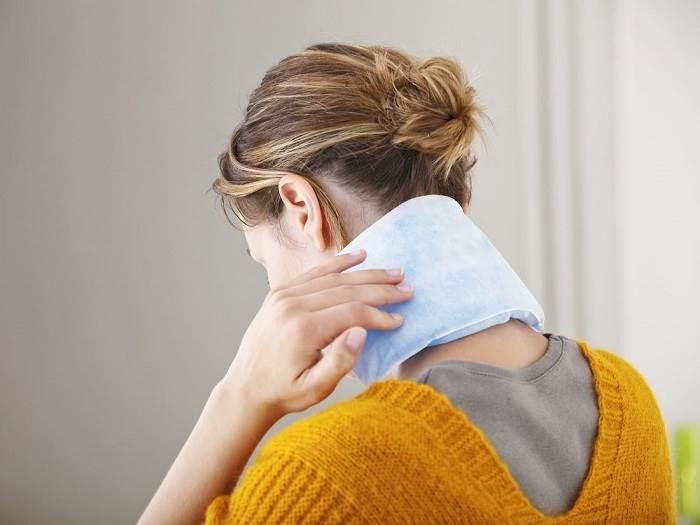 بکار بردن گرما یا یخ برای رفع سردرد تنشی