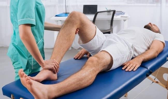 فیزیوتراپی برای درمان آرتروز مفصل زانو