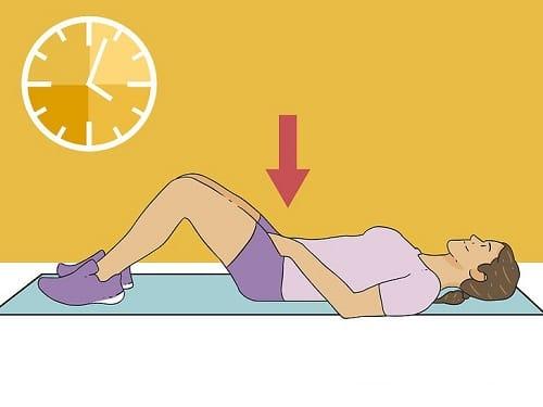 مراحل ورزش عضلات کف لگن