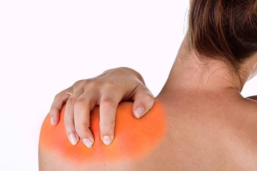Hurting neck and shoulder